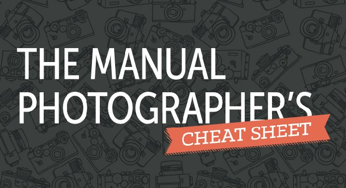 The Manual Photographer's Cheat Sheet [infographic]