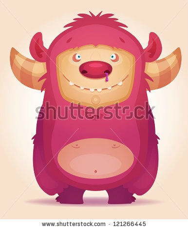 Shutterstock image: 'Cute Monster' via Real Illusion