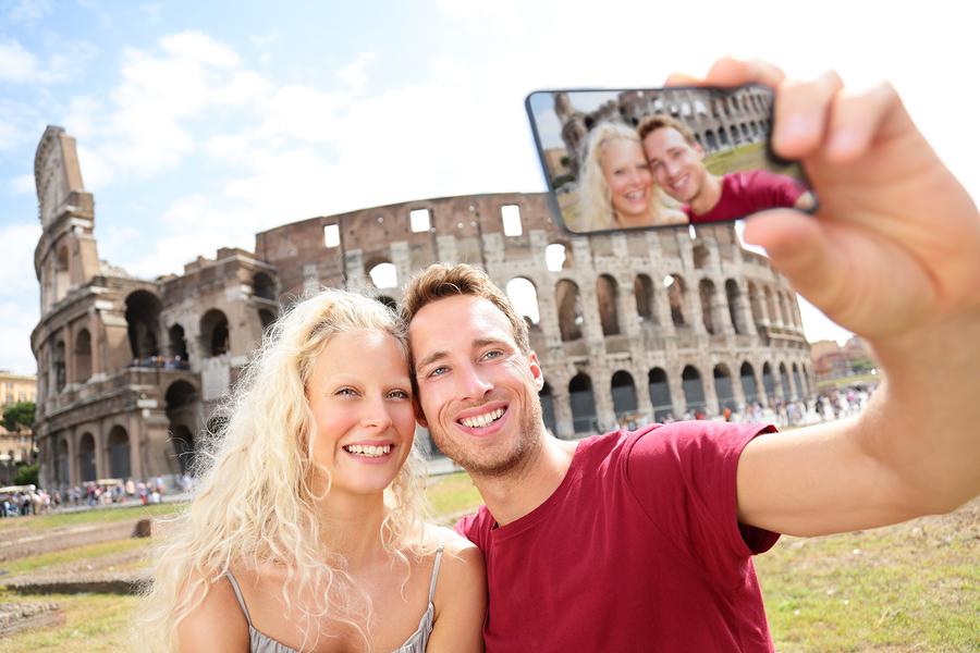 Selfie in Rome
