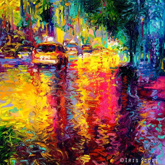 Bathed-taxis-Iris-Scott