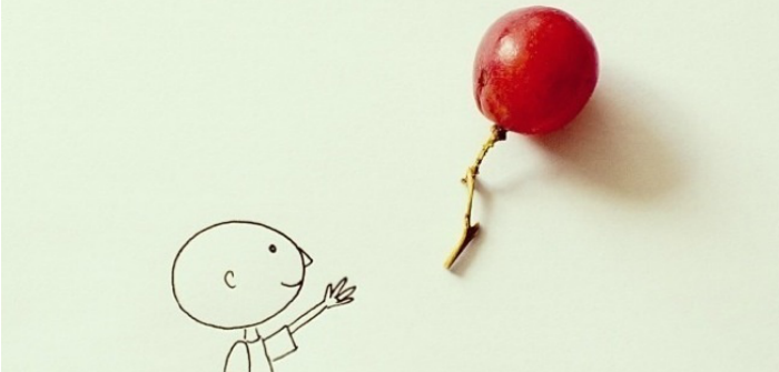 Examples of fantastic art made from simple ideas