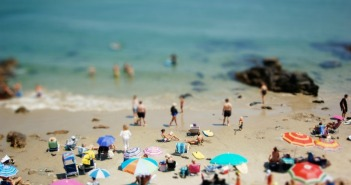 Tilt-shift photography makes normal photos look like miniature models