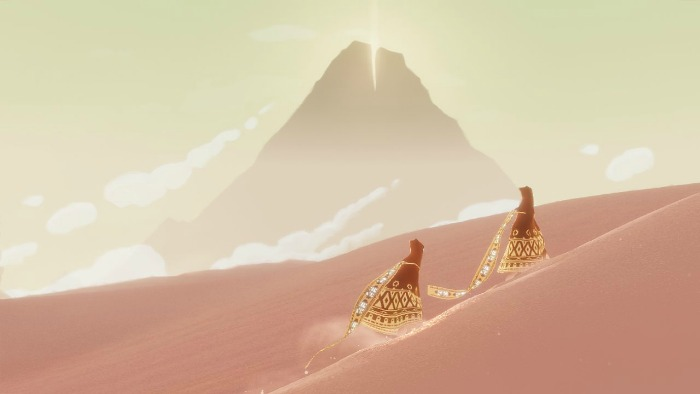Screenshot of Journey