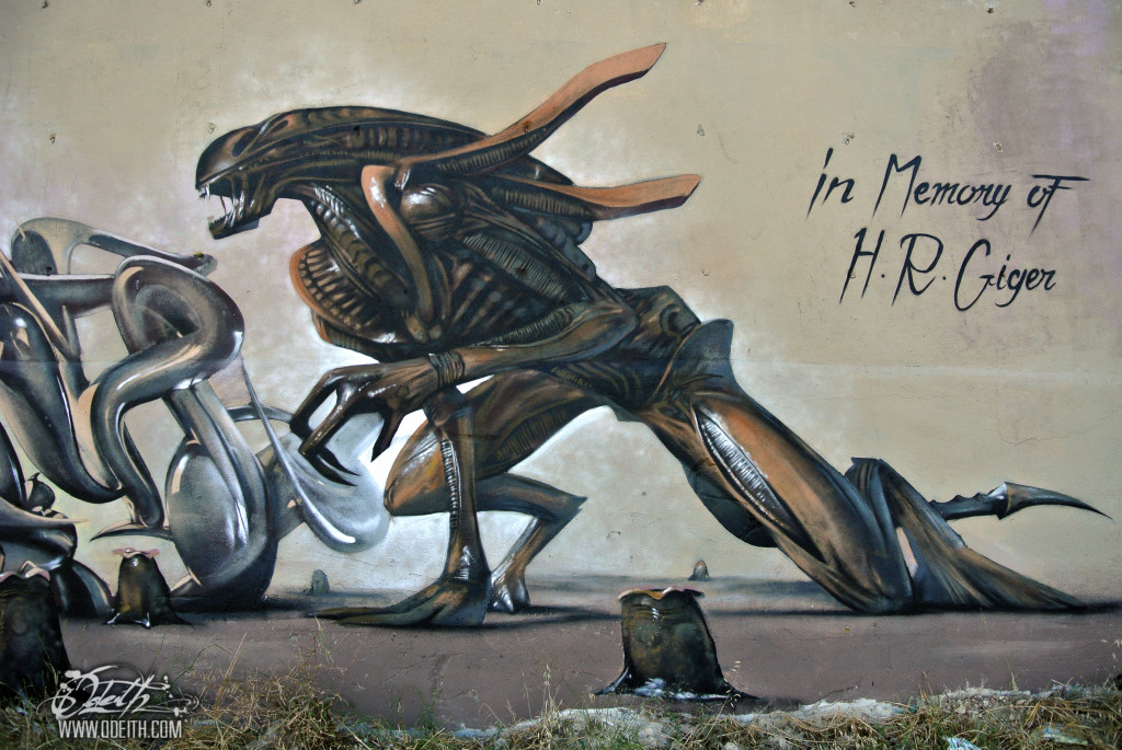 This Amazing Floating Graffiti Art Will Bend Your Mind