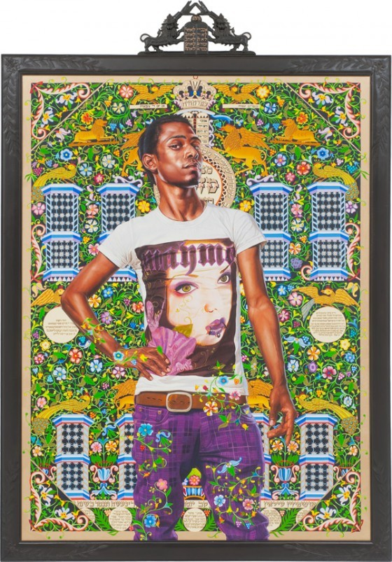Kehinde Wiley's Benediter Brkou (The World Stage: Israel)'