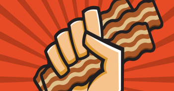 hug the bacon. Theme of the month on Zippi, The Studio.