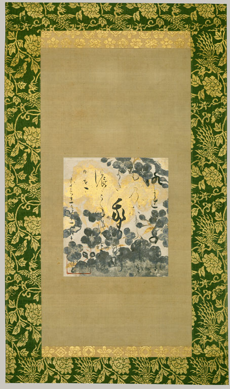 Painting by Tawaraya Sotatsu (Japanese); Calligraphy by Hon'ami Koetsu (Japanese)