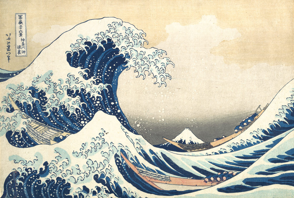 The Great Wave at Kanagawa Painting