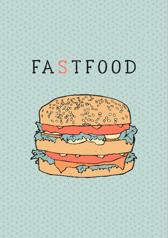 Fat Food, a freshinkstain design, on Zippi.