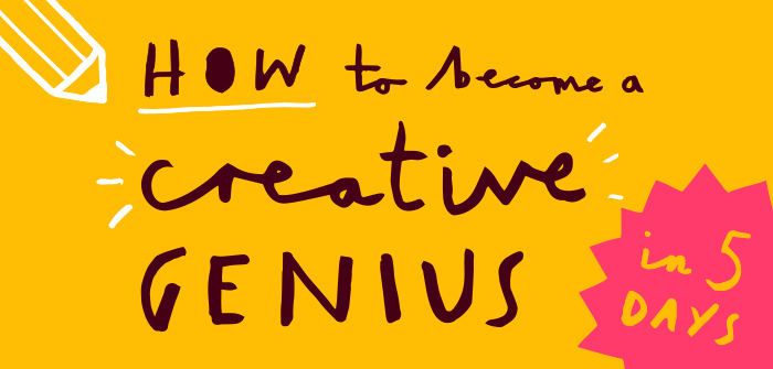 How to become a creative genius header