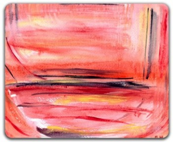 Placemats - Abstract painting by monikahowarth