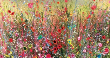 I Feel Love Printed Canvas by Yvonne Coomber