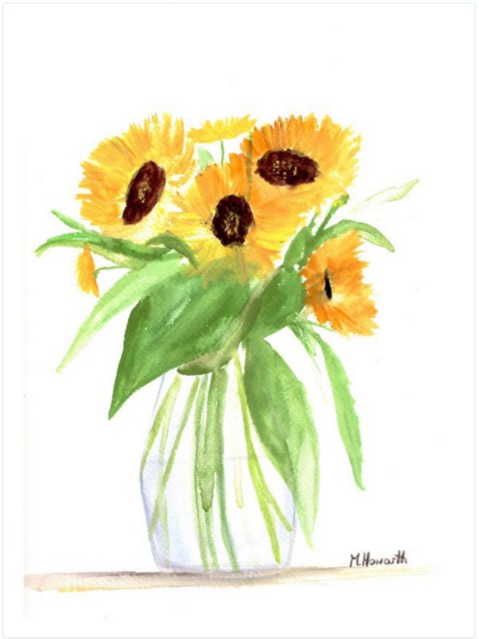 Example of flower art