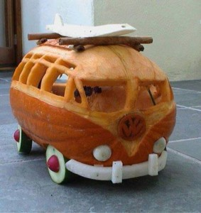 vw-campervan-pumpkin