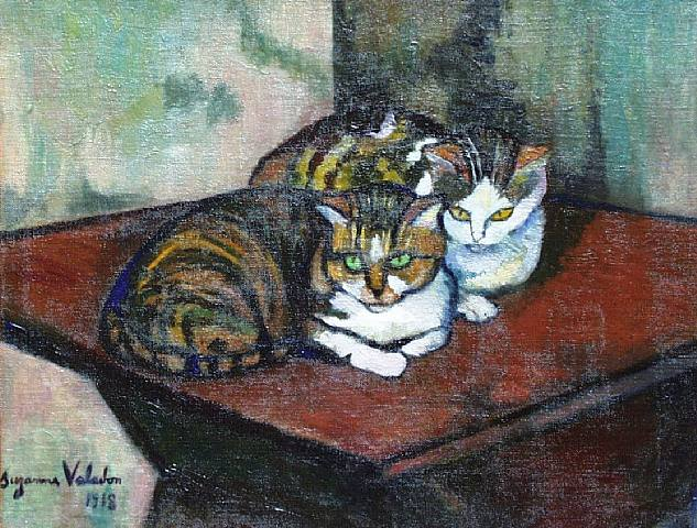 two-cats-suzanne-valadon