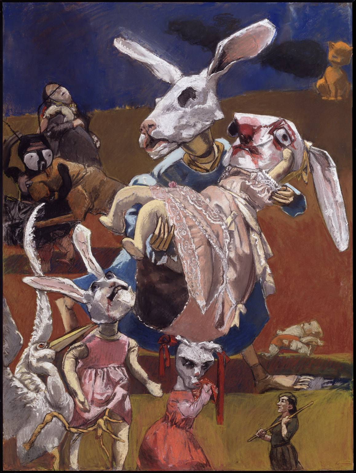 War 2003 Paula Rego born 1935 Presented by the artist (Building the Tate Collection) 2005 http://www.tate.org.uk/art/work/T12024