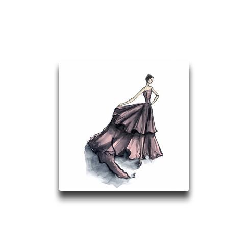 audrey-hepburn-pink-canvas