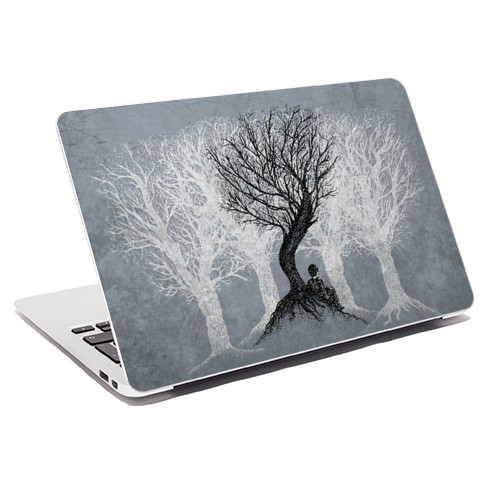 beneath-the-branches-laptop-skin
