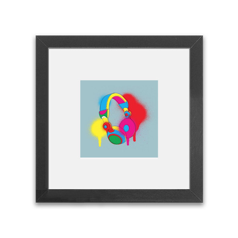 spray-can-headphones-framed-print