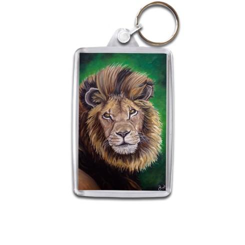lion-keyring