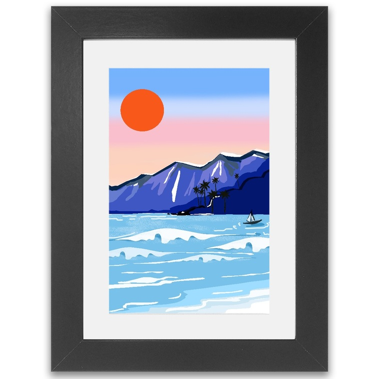 Beach Holiday Framed Print
