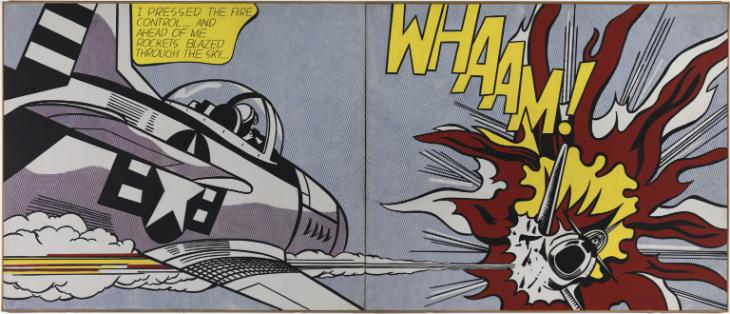Roy Lichtenstein - Whaam (1963)